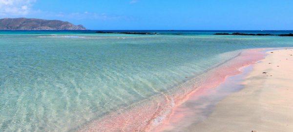 elafonissi pink beach Cretebus-travel